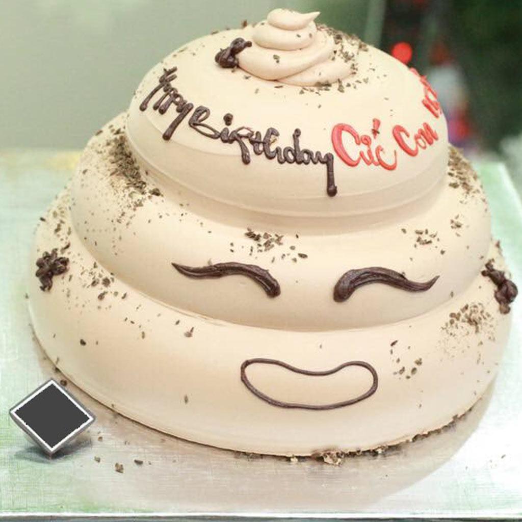 Bánh sinh nhật vui nhộn, hài hước