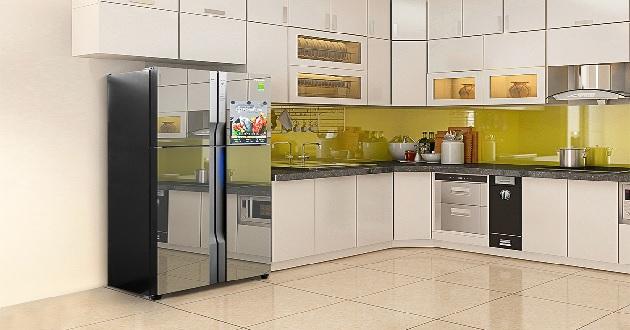 Tủ lạnh Panasonic 4 cánh có ngăn đông mềm