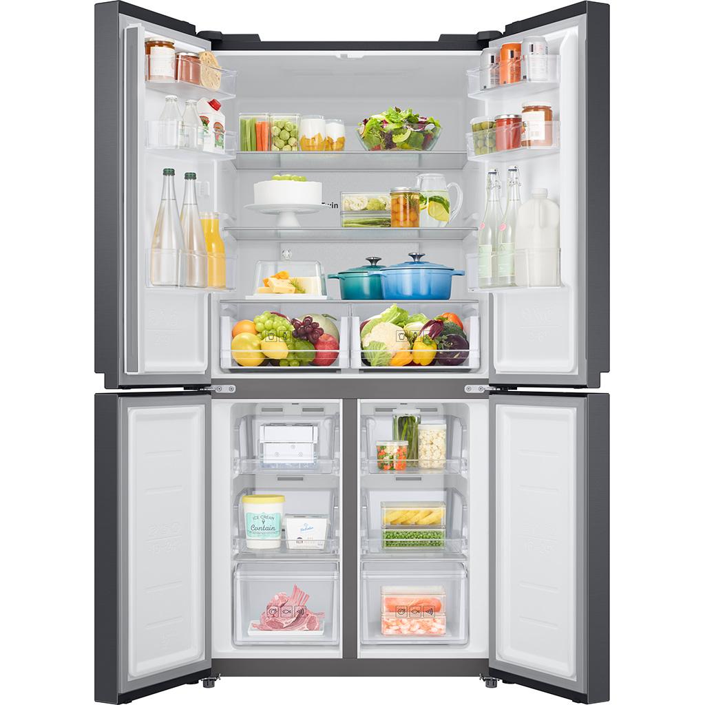 Tủ lạnh Samsung Inverter 488L 4 cửa RF48A4000B4/SV (New 2021)