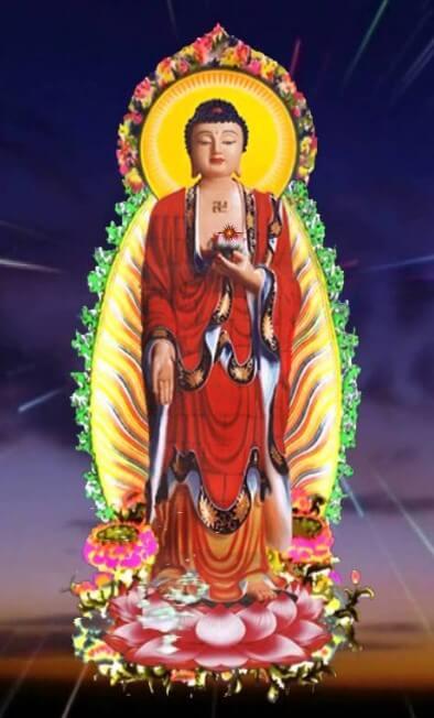 Hình nền điện thoại Phật A Di Đà