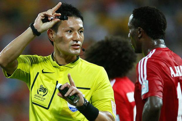 Trọng tài bắt chính trận vòng loại World Cup giữa Việt Nam - Malaysia (11/6)