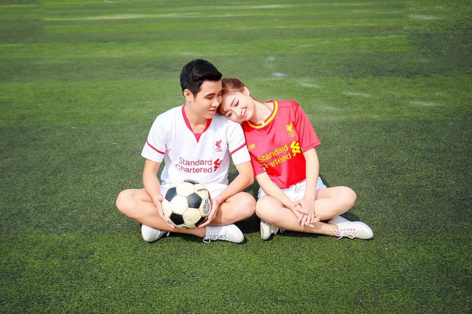 Những stt thả thính về bóng đá và tình yêu hay