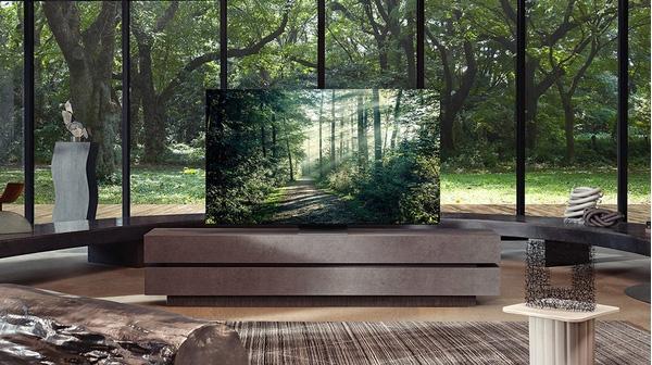 Samsung Neo QLED có viền màn hình siêu mỏng đem lại cảm giác sang trọng, tăng khả năng tập trung của người xem