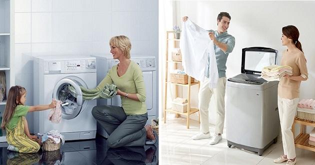 Nên mua máy giặt lồng ngang hay máy giặt lồng đứng?