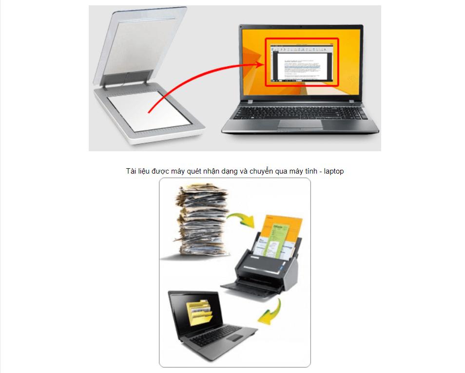 Máy scan giúp lưu trữ tài liệu hiệu quả