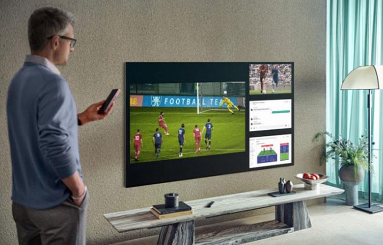 Tính năng Multi View trên tivi Samsung Neo QLED