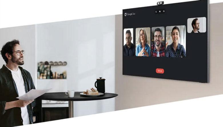 Tính năng gọi video trên tivi Samsung Neo QLED