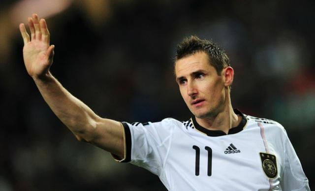 Miroslav Klose là cầu thủ ghi nhiều bàn thắng nhất tại World Cup