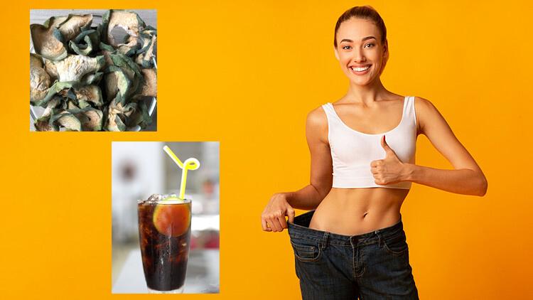 Uống trà bí đao khô giảm cân