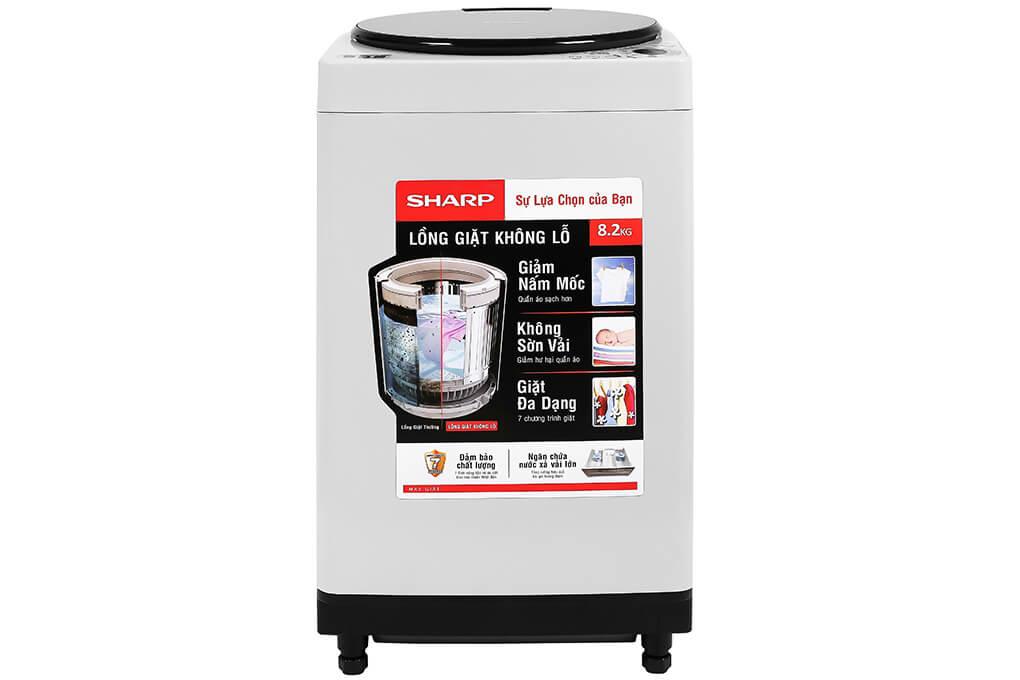 Máy giặt lồng đứng Sharp ES-W82GV-H 8.2kg
