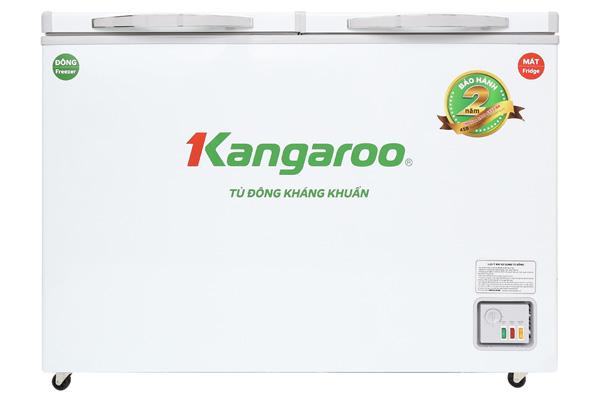 Tủ đông kháng khuẩn 2 ngăn 400 lít Kangaroo KG400NC2