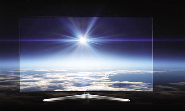 Tivi Casper 65 inches có màn hình siêu mỏng
