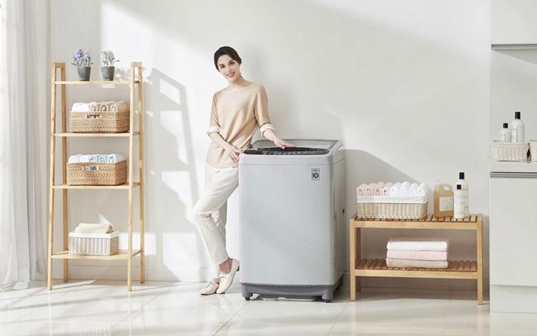 Kích thước của máy giặt cửa trên