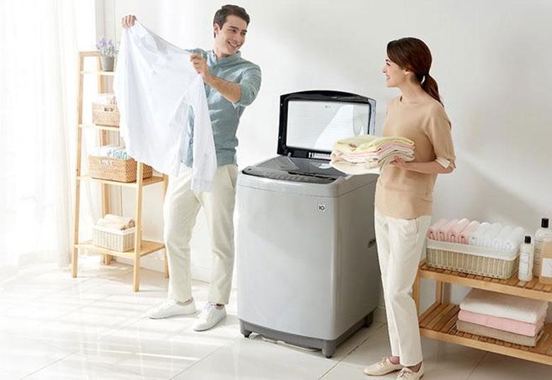 Công suất của máy giặt cửa trên