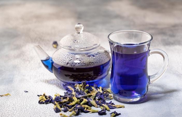 Uống trà hoa đậu biếc có tác dụng gì?