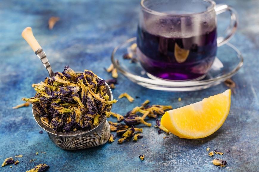 Công dụng của trà hoa đậu biếc