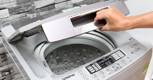 Các ký hiệu giặt trên máy giặt LG