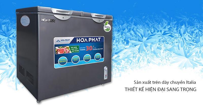 Tủ đông Hòa Phát 2 ngăn HCF 506S2Đ2SH