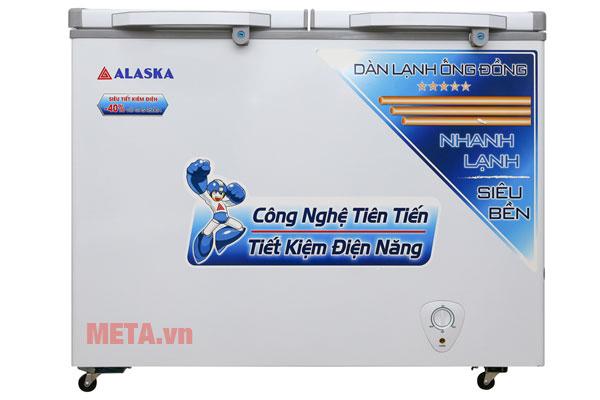 Tủ đông Alaska BCD-3568C 350 lít