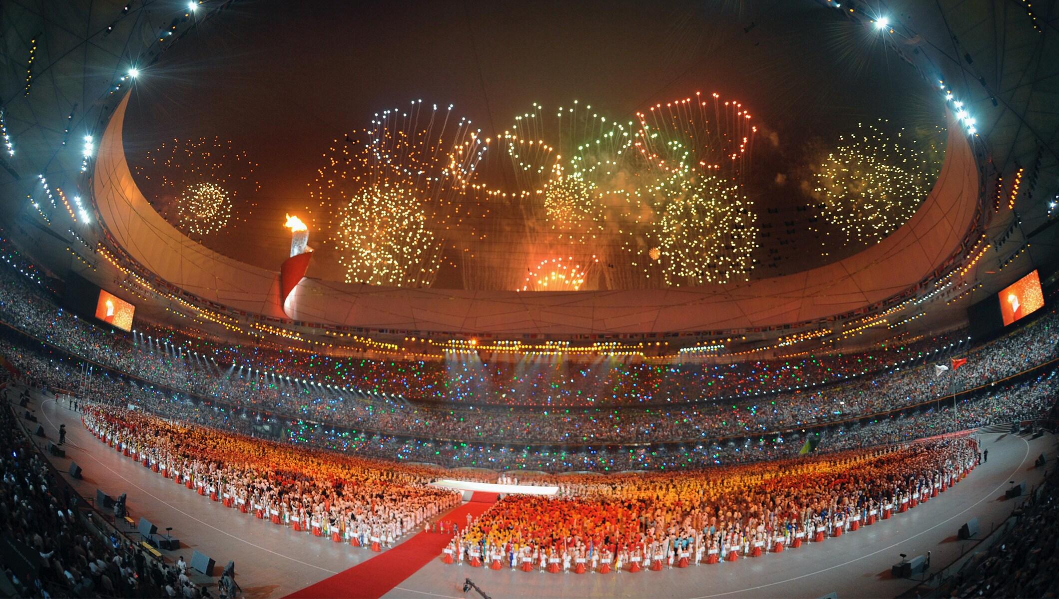 Lễ khai mạc Olympic ấn tượng