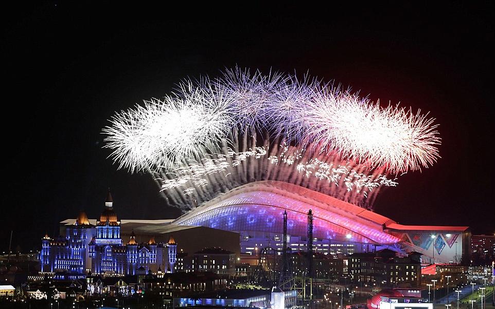 Lễ khai mạc thế vận hội mùa đông Olympic Sochi 2014