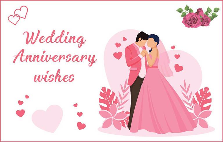 Tổng hợp những stt chúc mừng kỷ niệm ngày cưới