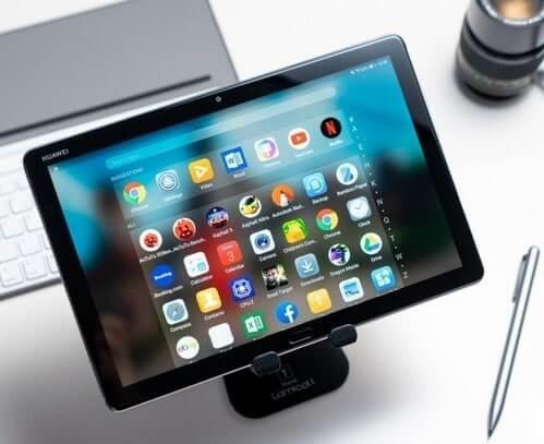 Huawei MediaPad M5 Lite 10 với M Pen Lite