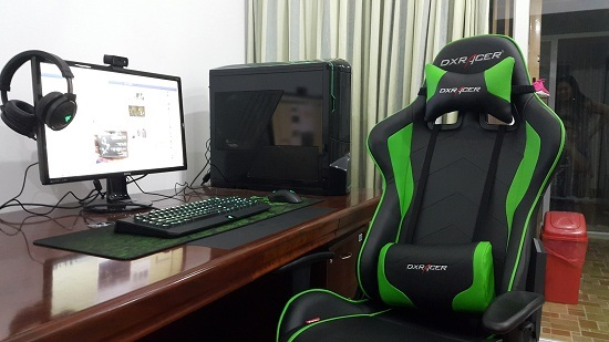 cách lắp ghế gaming