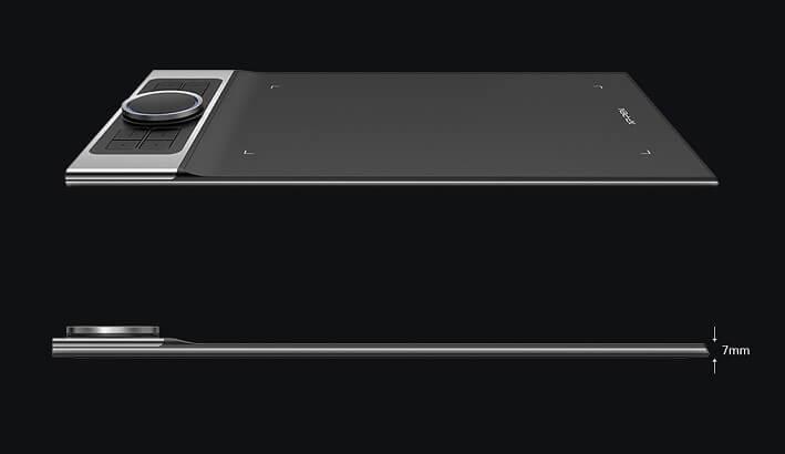 XP-Pen Deco Pro Small & Medium chỉ mỏng 7mm