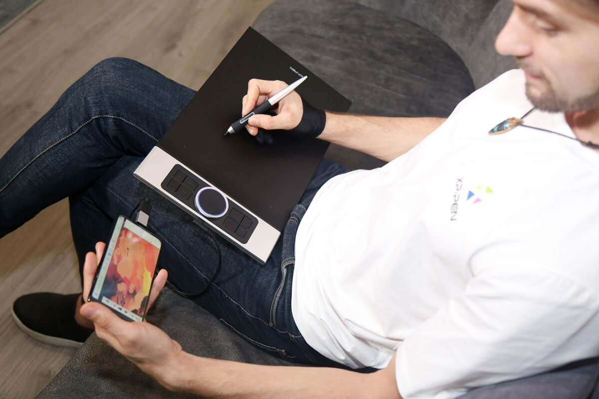 Bảng vẽ điện tử XP-Pen Deco Pro bản Small & Medium