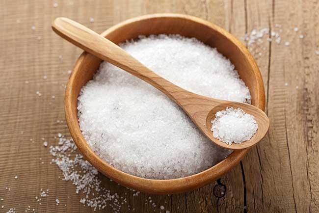 Cách bảo quản gạo bằng muối