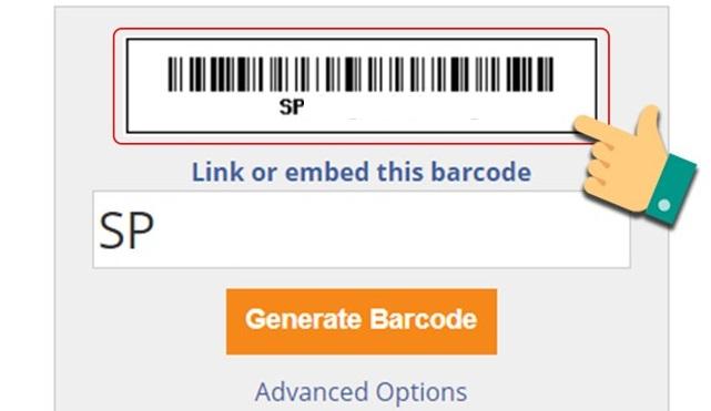 Cách tạo mã vạch bằng Barcodesinc