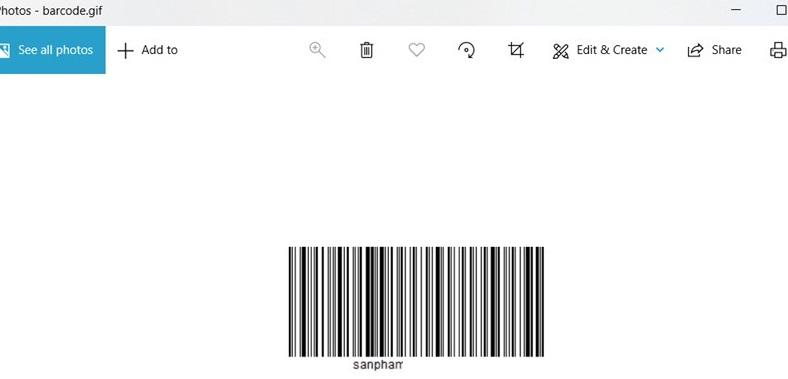 Cách tạo mã vạch bằng Online Barcode Generator