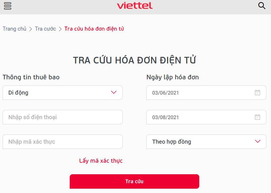 Cách tra cứu hóa đơn điện tử Viettel nhanh chóng, đơn giản