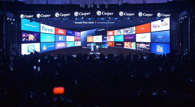 Lễ ra mắt tivi Casper tại Việt Nam