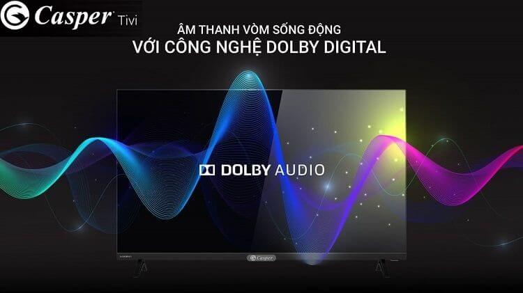 Tivi Casper có công nghệ âm thanh vòm DST Digital Surround