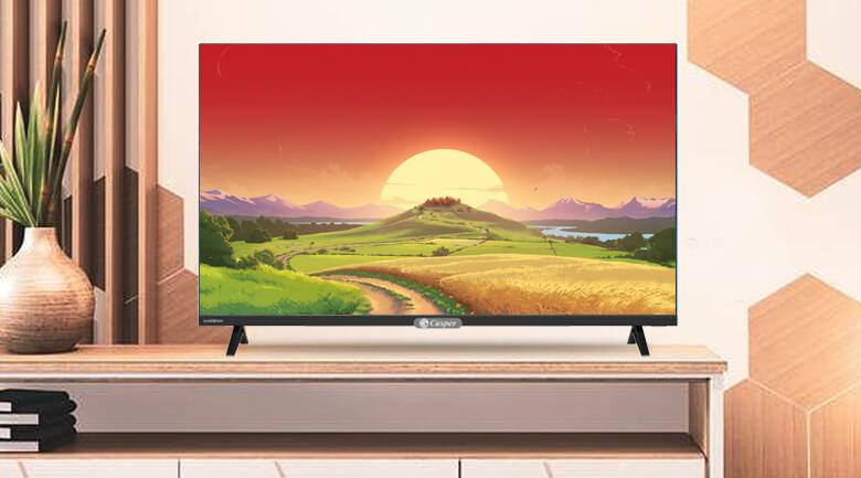 Tivi casper 32 inches có thiết kế gọn gàng, đẹp mắt