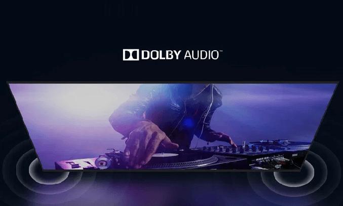 Tivi casper 32 inches sử dụng hệ thống âm thanh vòm Dolby Audio