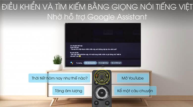 Tivi Casper Smart tivi Casper 32 inch 32HG5200 tìm kiếm bằng giọng nói