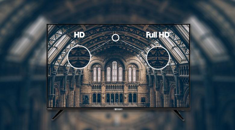 Tivi Casper 43FX6200 có màn hình full HD sắc nét