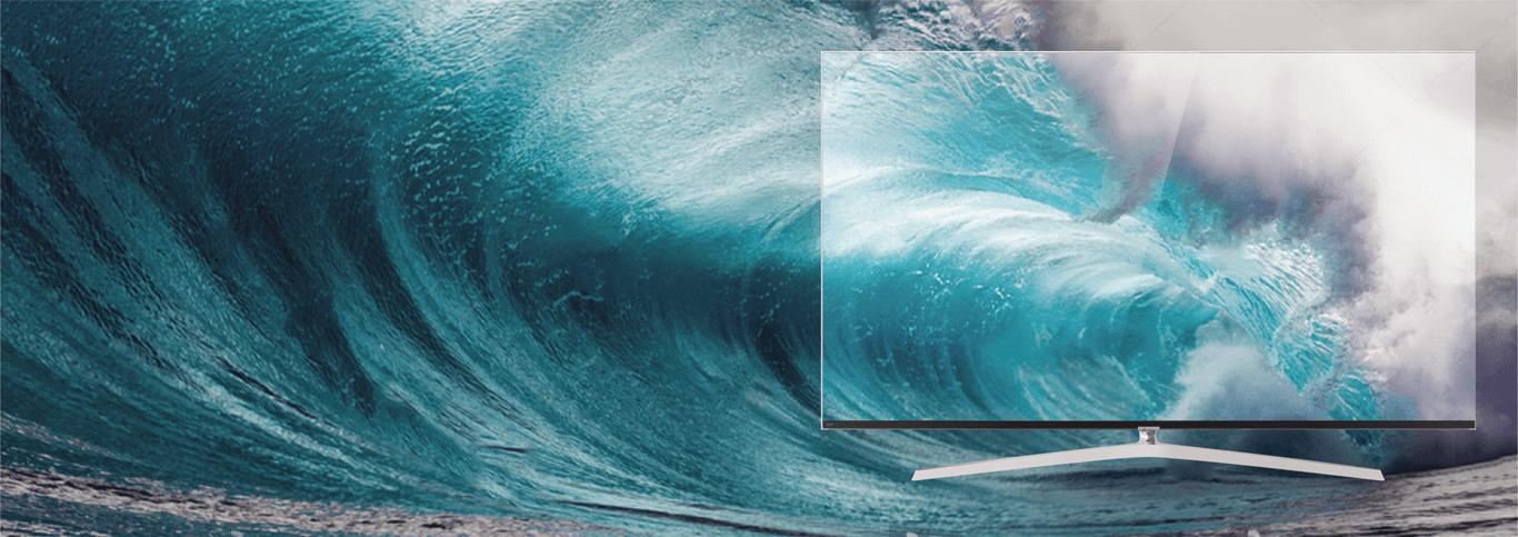 Tivi Casper 65 inches độ phân giải cao cho hình ảnh sắc nét