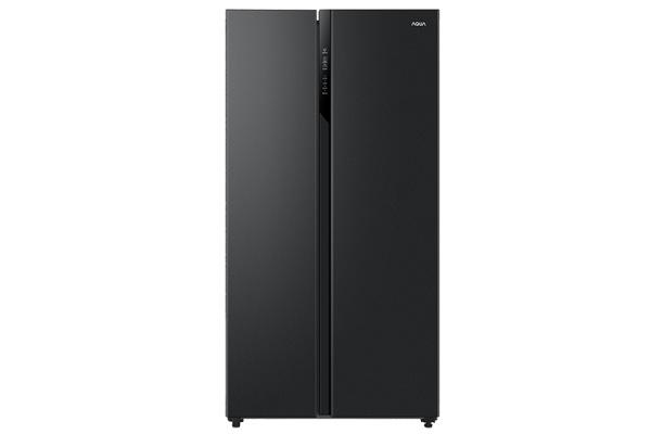 Tủ lạnh side by side Aqua Inverter 541 lít AQR-S541XA (BL)
