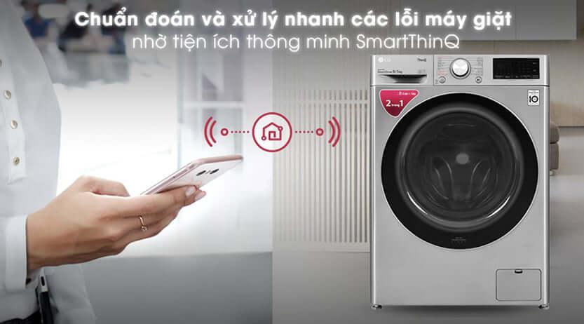 Ứng dụng LG ThinQ của máy giặt LG FV1409G4Vv
