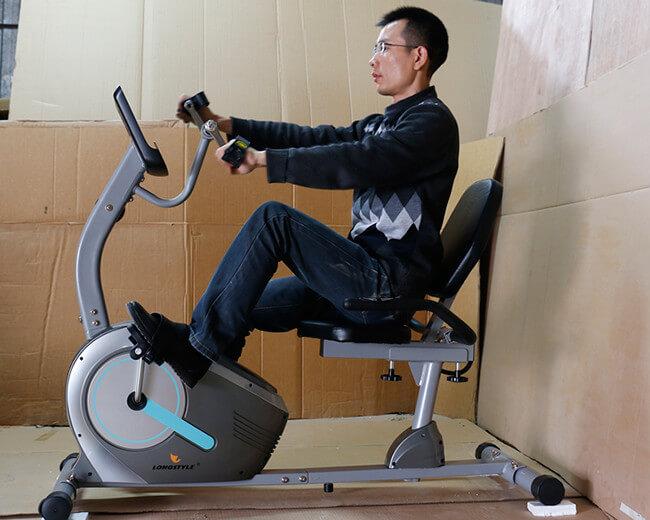 Xe đạp tập phục hồi chức năng là thiết bị y tế cần thiết cho người tai biến, chấn thương