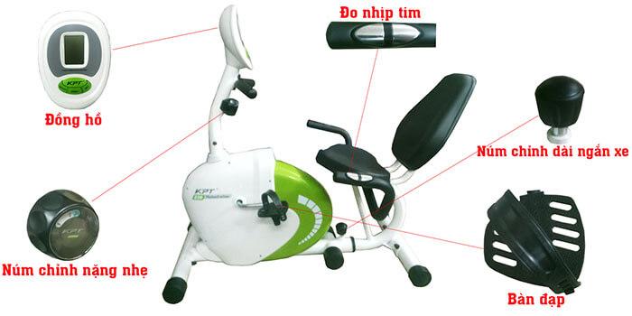 Xe đạp tập phục hồi chức năng R23900-C thiết kế hiện đại, đủ tính năng