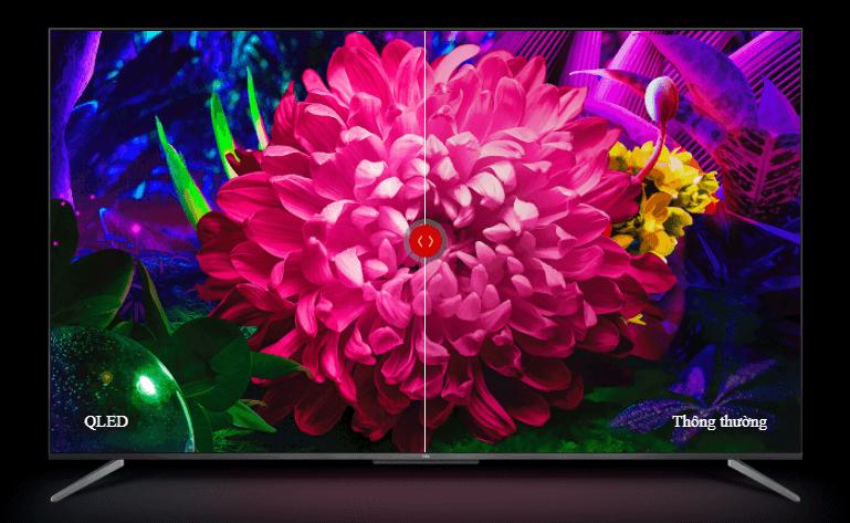 Tivi TCL 65C715 là chiếc tivi TCL QLED chất lượng cao