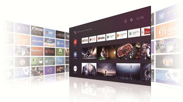 TCL 65P618 ứng dụng hệ điều hành Android 9.0
