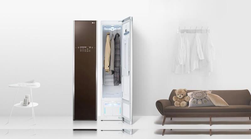 Tủ giặt khô LG giúp chăm sóc quần áo hiệu quả