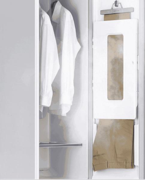 Tủ giặt khô LG giúp là quần áo phẳng phiu