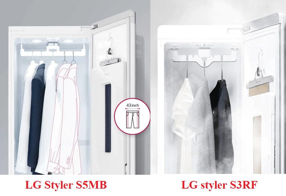 Các model tủ giặt khô LG